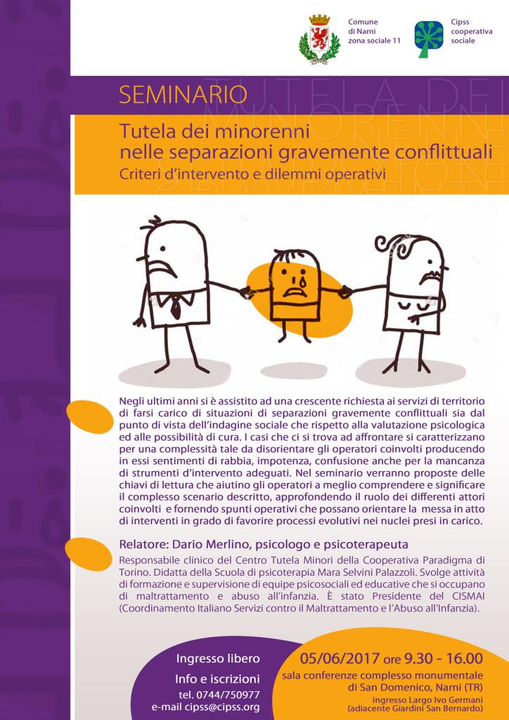 corso di formazione tutela minori separazioni conflittuali cipss